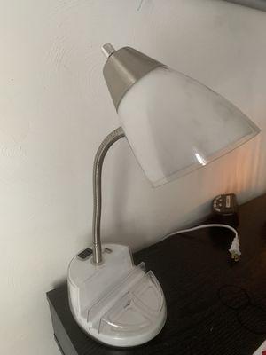 Photo White Desk Lamp