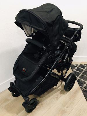 Photo Black/Black Rare Britax B-Ready B Ready Double Stroller B-Safe B Safe Infant Car Seat & Car Base, Seat Adapters, Safety Bar, Hook, Cupholder, & Organ