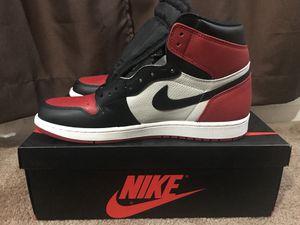 21da0b0c32 Bred Toe 1 s Jordan s for Sale in Sacramento