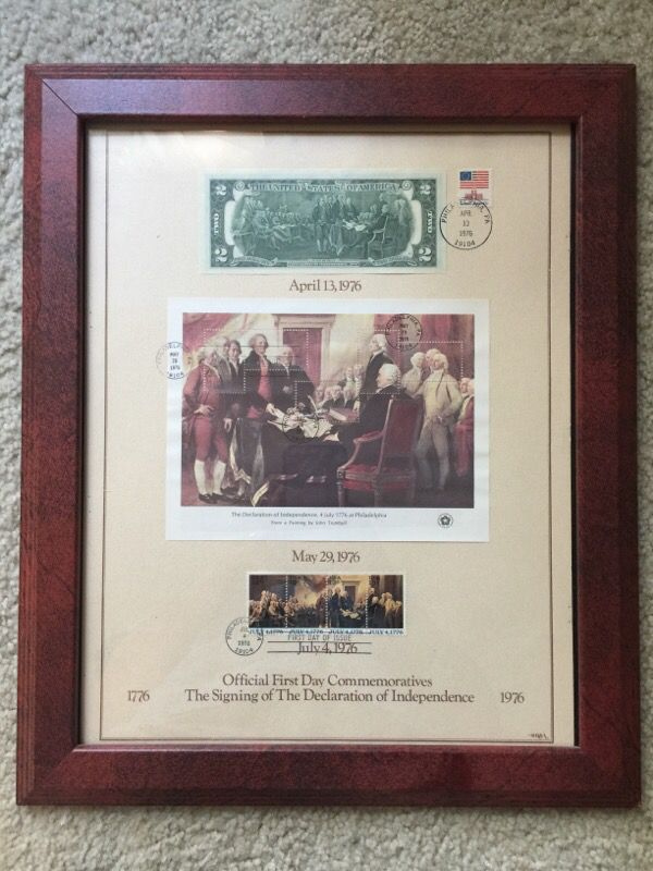 Declaration of Independence Official First Day Commemoratives ...