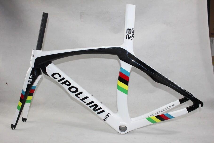 Carbon frame bike