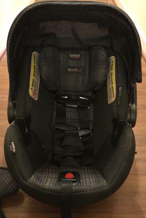 "Britax B-Safe Elite Car Seat and Base - Black/Grey ""Domino"" print for Sale in Washington, DC"