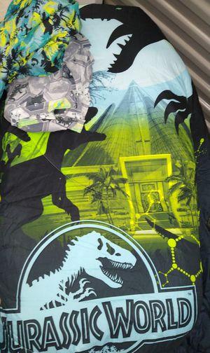 Photo New kids Jurassic Park bedding