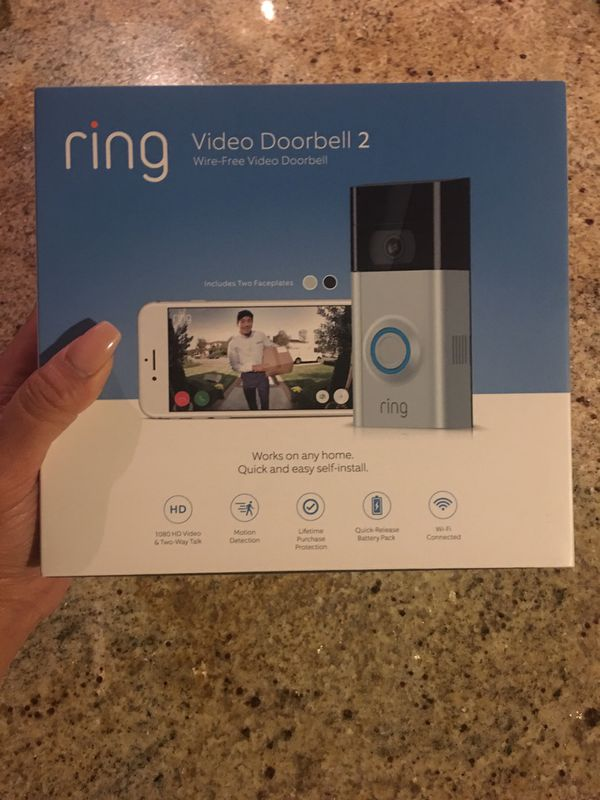 Ring video doorbell 2 for Sale in Dallas, TX - OfferUp