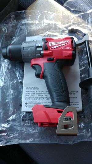 MILWAUKEE FUEL HAMMER DRILL/DRIVER NEW NEW for Sale in Millersville, MD