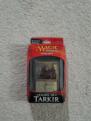 Magic the Gathering: Khans of Tarkir Intro Pack for Sale in Fairfax, VA