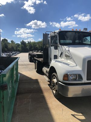 2005 kenworth with trailer for Sale in Houston, TX