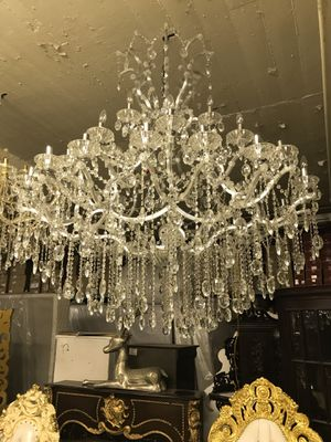 New and used chandeliers for sale in queens ny offerup 6 ft h beautiful crystal chandelier aloadofball Gallery