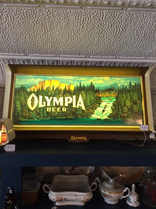 Beer sign olympia Olympia Beer