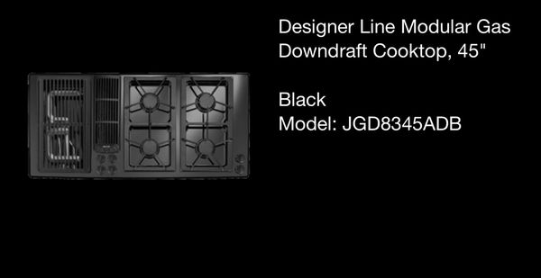 Jenn Air Designer Line Modular Gas Downdraft Cooktop 45 For Sale In Portland Or Offerup