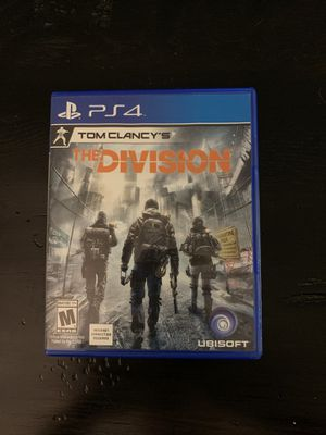 Tom Clancy's the Division PS4 for Sale in Orlando, FL