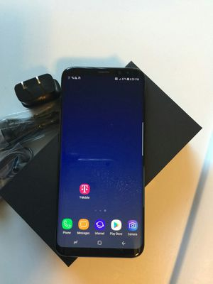 Samsung Galaxy S 8 plus , UNLOCKED . Excellent Condition ( as like New) for Sale in Springfield, VA