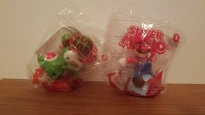 "NINTENDO McDonald's Toys ""Super Mario Collectibles - Mario & Yoshi Duo"" for Sale in Fresno, CA"