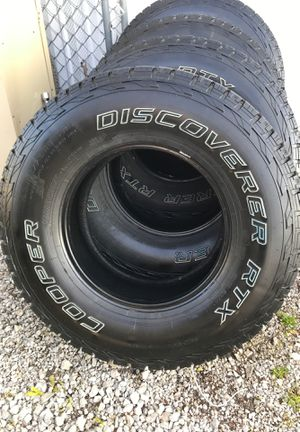 Photo For Cooper discovery RTX 265/75/R16 Good luck finding tires they look this good for this price at 16 inches took me forever,.