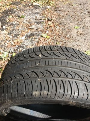 255 35 18 pirelli pzero nero tires for Sale in Pittsburgh, PA