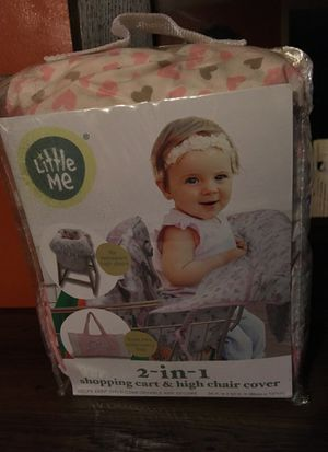 2in 1chopping cart a high chair cover for Sale in Hanover, MD