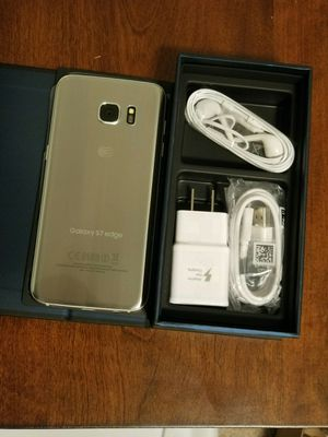 Samsung Galaxy s 7 edge , Unlocked .  Excellent condition   ( as like  New ) for Sale in Springfield, VA
