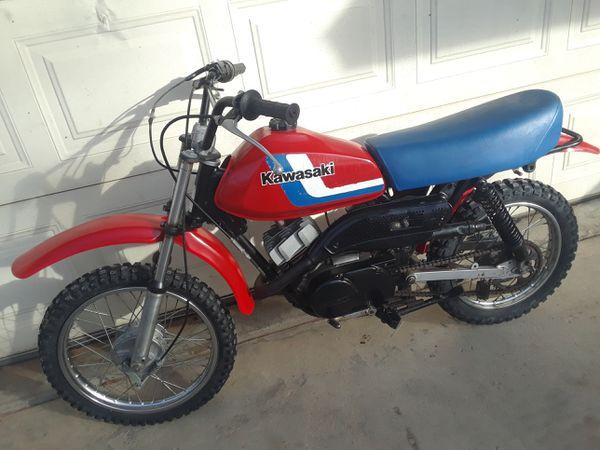 Clic Kawasaki 100cc two-stroke 5-speed.. (Motorcycles) in ...