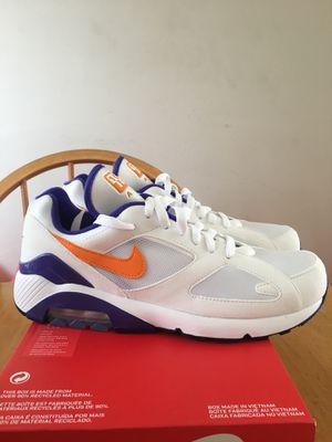 Brand new Nike air max 180 premium running shoes men's size 8.5 for Sale in La Mesa, CA