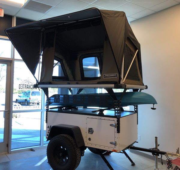 FSR Overland Trailer with Rooftop tent for Sale in Phoenix, AZ - OfferUp