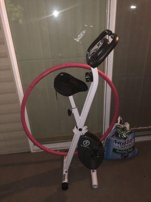 Folding stationary bike for Sale in Alexandria, VA