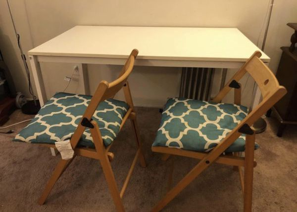 02bb88002bcd Garage Sale Items... DINING TABLE AND 2 CHAIRS with Cushion (General ...
