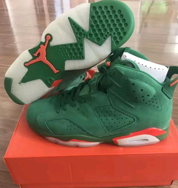 Nike Air Jordan 6 Retro NRG  Gatorade Green Pine Green (AJ5986 335)US Mens  Size  8 Shoes are Brand New In Box. Never Worn for Sale in Miami b2f7da943