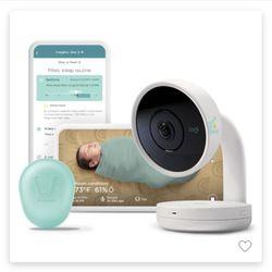 Lumi By Pampers Smart Video Baby Monitor + Sleep Kit Bundle Thumbnail