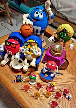 Candy dispenser M &M collection for Sale in Avondale, AZ