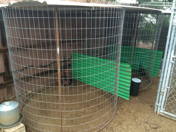 Cages, Gallo's, gamefowl, jualas, fly pens for Sale in Vista, CA - OfferUp