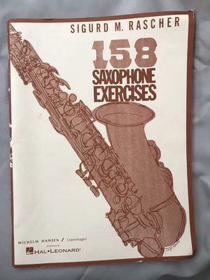 Saxophone Exercises Book for just $5 for Sale in Orlando, FL
