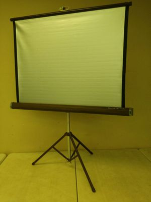 Vintage portable video projector screen for Sale in St. Louis, MO