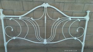 Antique king iron bed for Sale in Brea, CA