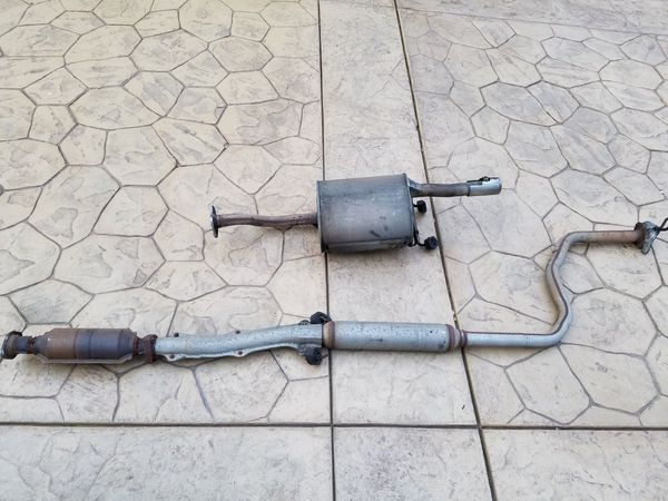 95 honda civic coupe exhaust