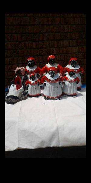 Photo 6 VTG ceramic Aunt Jemima kitchen figurines