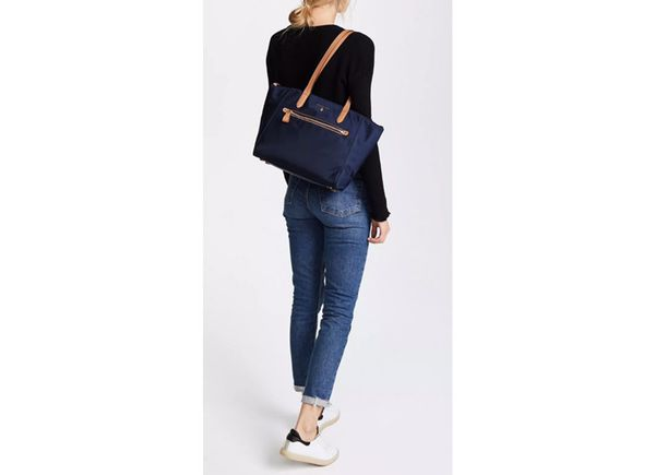 23cb70a94b7288 NWT Michael Kors MK Nylon Kelsey Medium Top Zip Tote BAG purse ADMIRAL NAVY  BLUE PRESENT GIFT for Sale in Garden Grove, CA - OfferUp