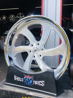 """‼️24"""" INFAMOUS WHEELS STAGGERED‼️ $3,200 WHEELS & TIRES‼️ 5 & 6 LUG CHEVROLET & GMC ‼️ FINANCING AVAILABLE NO CREDIT NEEDED TO APPLY‼️ Thumbnail"""