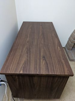 Credenza Computer Desk with drawers Thumbnail