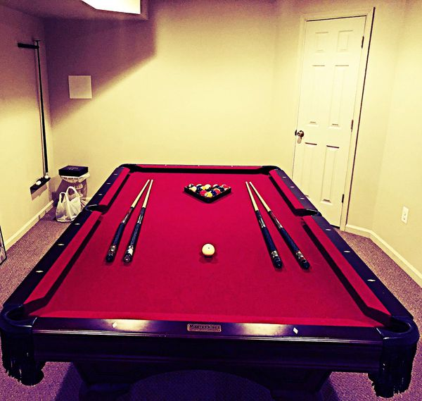 Pool Table Masterpiece By Christopher James For Sale In Mays - Masterpiece pool table