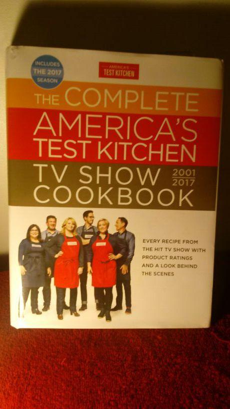COOKBOOK! Popular item, kitchen bible