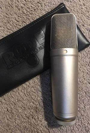 Rode NT1000 condenser microphone for Sale in Midlothian, VA