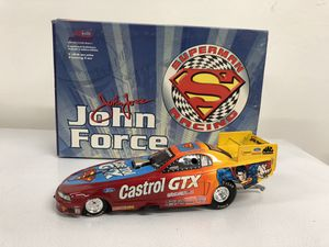 Superman John Force NHRA Funny Car diecast model 1:24 for Sale in Tempe, AZ