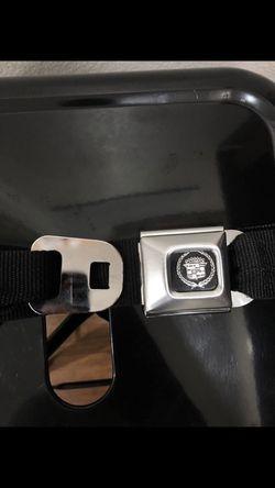Cadillac Seatbelt: One Size Fits All Thumbnail