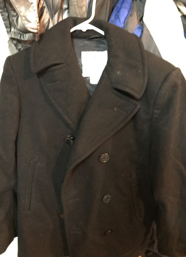 a27b2540875 Us navy issue men pea coat for sale in maple grove offerup jpg 600x826 Navy  pea