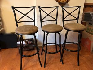 Bar chairs for Sale in Gaithersburg, MD