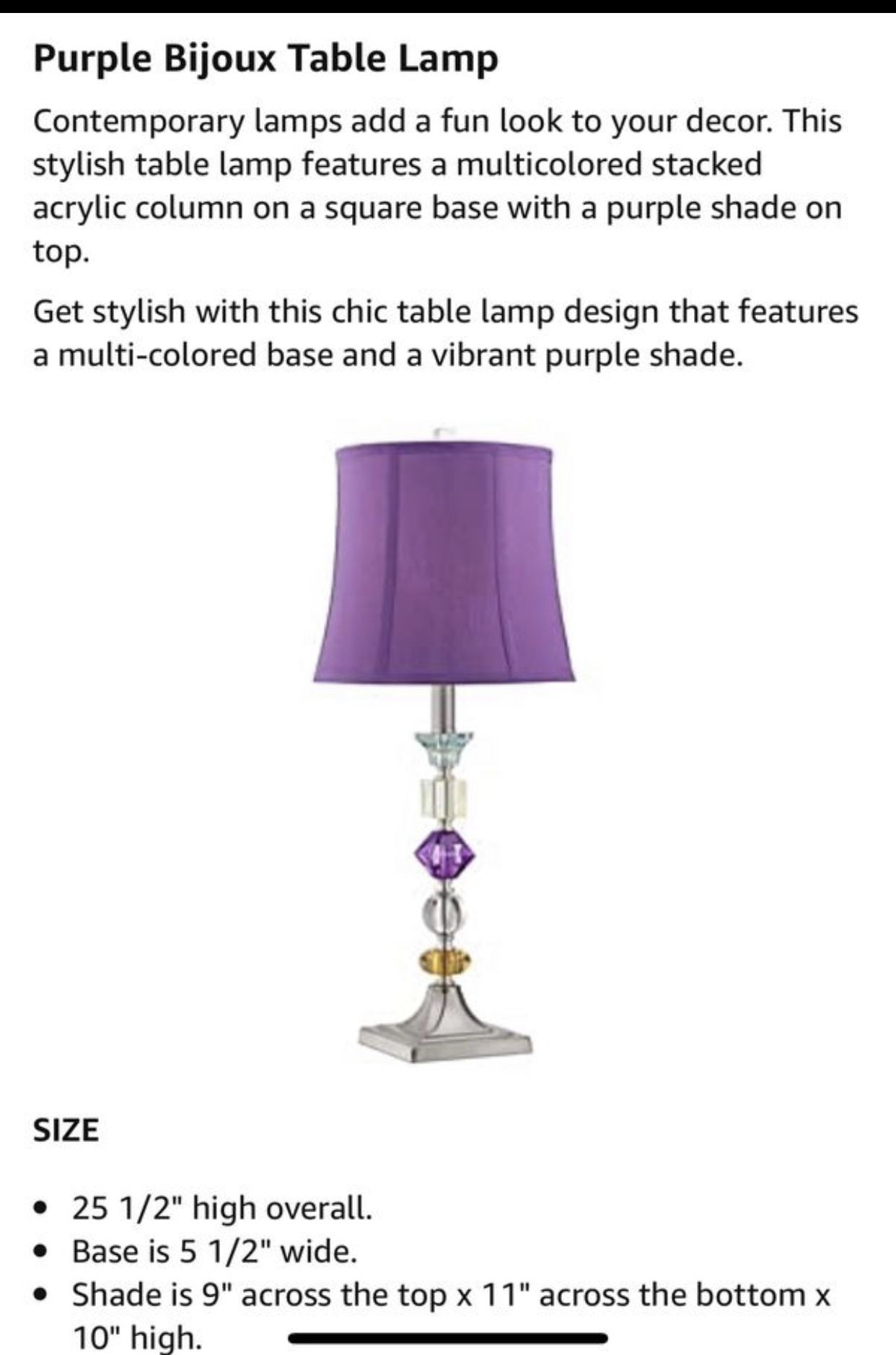 Beautiful Set of lamps