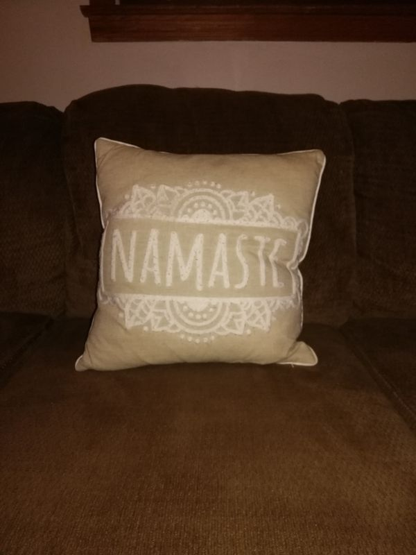 Namaste Storehouse Decorative Couch Pillow For Sale In Roebuck SC Adorable Storehouse Decorative Pillow