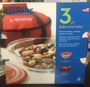 Anchor 3pc Bake &Take for Sale in Austin, TX