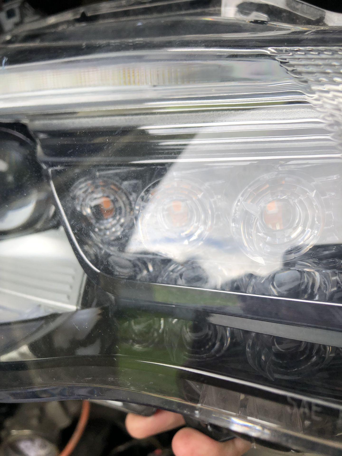 Subaru BRZ 2018 passenger headlight