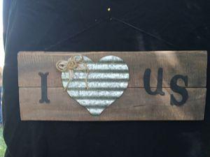 Handmade rustic sign for Sale in Rustburg, VA